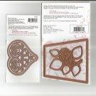 Heartfelt Creations, HCD 732, New, 2 Die templates, Flower Pot & Heart