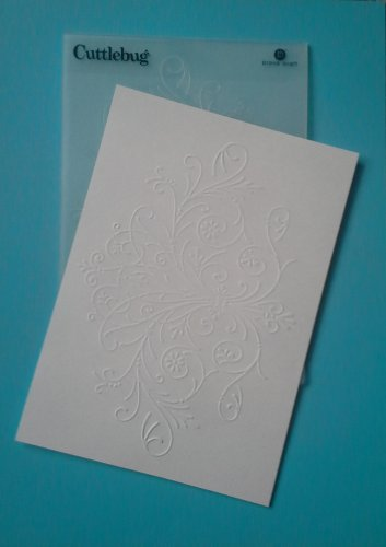 Cuttlebug Embossing Folder, Floral Spray
