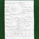 Cuttlebug Embossing Folder, Holiday Christmas Ornaments, Gently Used