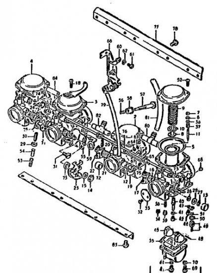 Rochester 2bbl Carburetor Diagram