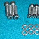 SUZUKI GS1150 Stainless carb bolt set