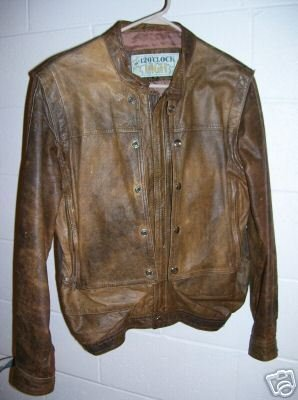 12 O'Clock High Men's Leather Bomber Jacket size 38