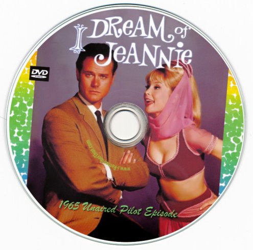 I Dream of Jeannie (Unaired Pilot) DVD -Region 0!