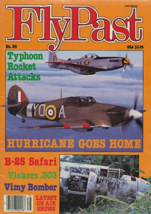FlyPast Magazine No.38 Sep 84 B-25 Safari,Vimy Bomber