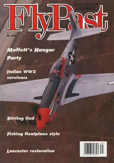 FlyPast Magazine No.139 Moffett's Hanger Party