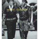 ROBERT LANSING/ANDREW PRINE 12 O'clock High RARE 4x6 PHOTO in MINT CONDITION #30