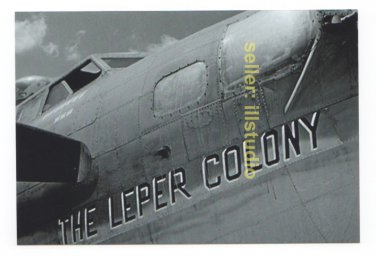 B-17 Ground Crews at Work 12 O'clock High RARE 4x6 PHOTO in MINT CONDITION #40