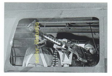 Waist Gunner in Action ~12 O'clock High RARE 4x6 PHOTO in MINT CONDITION. #43