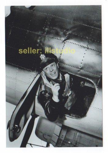 PAUL BURKE as Col. Gallagher 12 O'clock High RARE 4x6 PHOTO MINT CONDITION #47