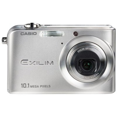 Casio Exilim EX-Z1000 10.1MP Digital Camera with 3x Anti Shake Optical Zoom (Silver)