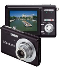 Casio Exilim EX-Z60BK 6MP Digital Camera with 3x Optical Zoom (Black)