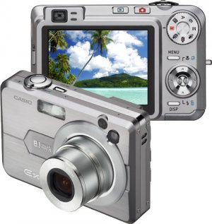 Casio Exilim EX-Z850 8.1MP Digital Camera with 3x Optical Zoom