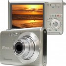"Casio EX-Z70SR Exilim Digital Camera Silver ( 7MP , 3 x Optical Zoom ) 2.5"" LCD"