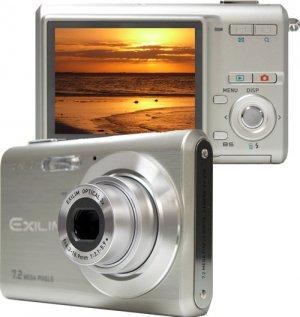 """Casio EX-Z70SR Exilim Digital Camera Silver ( 7MP , 3 x Optical Zoom ) 2.5"""" LCD"""