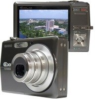"Casio EX-Z700GY 7.2 MegaPixel Camera with 3x Optical Zoom and Super Bright 2.7"" TFT LCD"