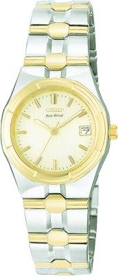 Citizen Ladies Riva Eco-Drive Two Tone Watch EW0494-55P