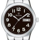Bulova Men's Emeritus Silver Tone Watch 96C20