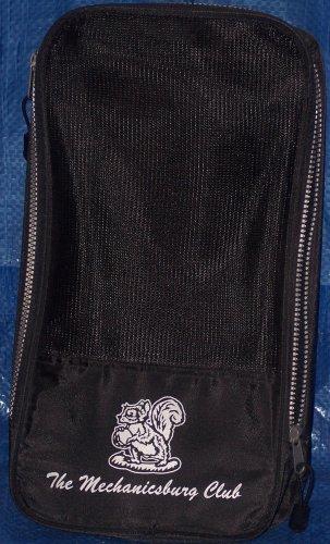 Shoe Bag With The Mechanicsburg Club Logo-Black