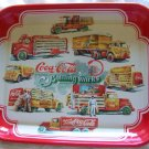 Coca Cola Coke 1999 Tray -Delivery Trucks Thru The Years - Mint!  - FREE SHIPPING