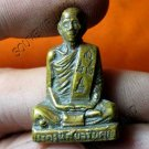 M474-THAI REAL ANTIQUE BUDDHA AMULET PHA KRING LP AOD