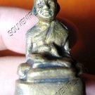 0464-THAI BUDDHIST AMULET FIGURE LP JARD ANCIENT REAL