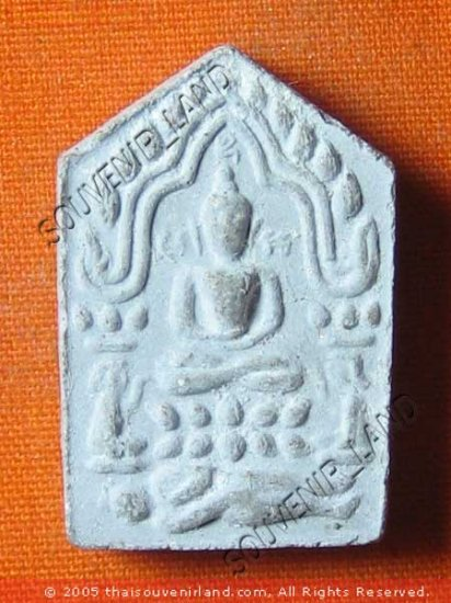 0166-THAI BUDDHA AMULET KHUN-PAEN PLAI KUMAN LP TIM S