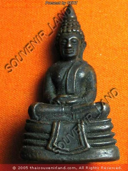 M375-REAL THAI BUDDHA AMULET MAGIC LP SO-TORN PHA-KRING