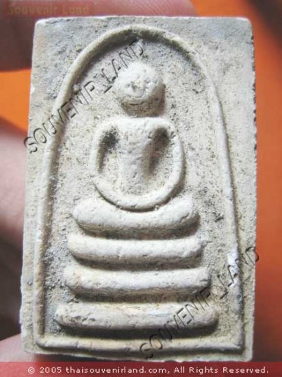 1051-REAL THAI BUDDHA AMULET CHARM SOMDEJ  LP PAIR MONK