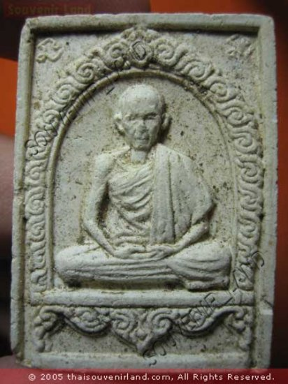 1048-REAL OLD THAI BUDDHA AMULET SOMDEJ MONK LP KA-SAM