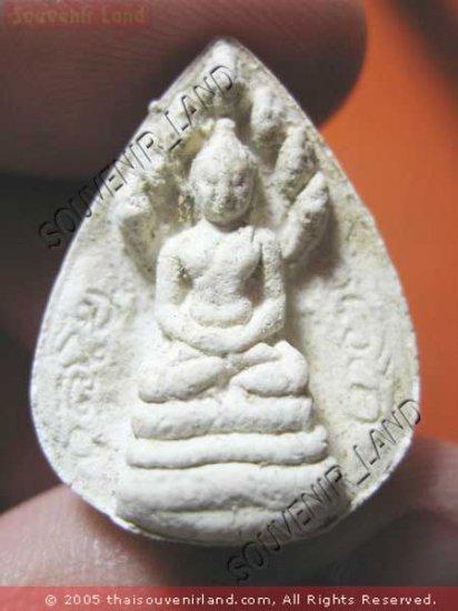 1047-THAI BUDDHA AMULET  JOW-KOON-NOR NAGA PROTECT 1970