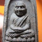 1007-THAI BUDDHA AMULET TABLET SOMDEJ LP TUAD ANTIQUE