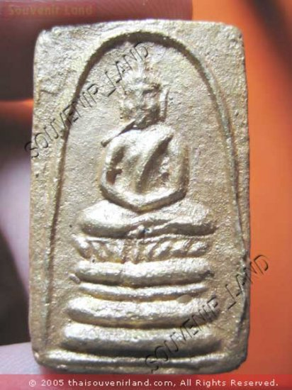 0965-THAI BUDDHA AMULET SOMDEJ LP PAIR 1ST ANTIQUES