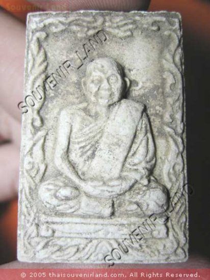 0950-OLD REAL THAI BUDDHA AMULET LP PERN TIGER POWER