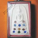 0942-THAI BUDDHA AMULET SOMDEJ GEMS CRYSTAL WAT RAKANG