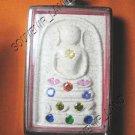 0941-THAI BUDDHA AMULET SOMDEJ GEMS CRYSTAL WAT RAKANG