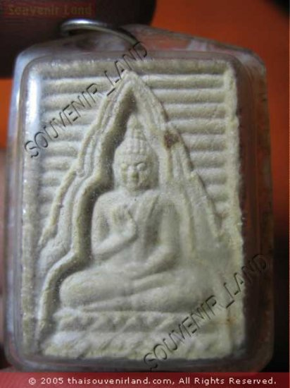 0904-THAI BUDDHA AMULET TABLET SOMDEJ LP SOD WAT PAKNAM