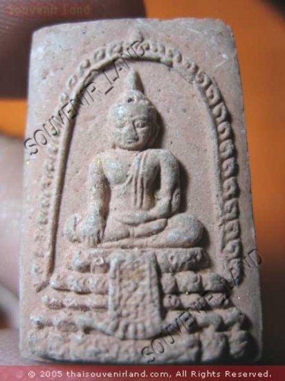 0903-VINTAGE OLD THAI BUDDHA AMULET SOMDEJ WAT RAI-KING