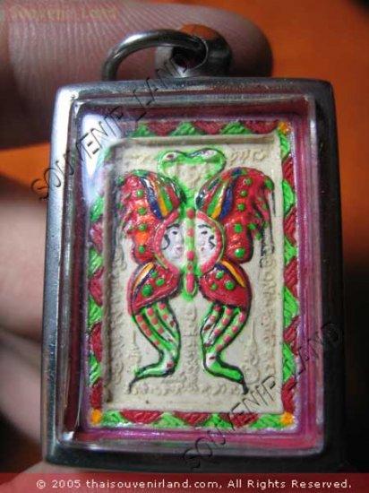 0902-THAI BUDDHA KUBA KRITSANA LOVE AMULET THAP GEM