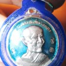 0824-THAI BUDDHA AMULET PENDENT WATERPROOF LP TAE BLUE