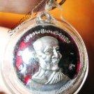 0820-THAI BUDDHA AMULET PENDENT WATERPROOF LP TAE RED