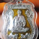 0816-THAI AMULET PENDENT WATERPROOF LP PERN TIGER YELOW