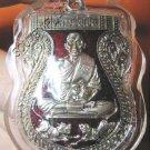 0813-THAI BUDDHA AMULET WATERPROOF LP PERN 2 TIGER RED