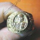0790-VINTAGE OLD RARE THAI BUDDHA AMULET RING LP TUAD