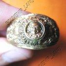 0781-VINTAGE OLD RARE THAI BUDDHA AMULET RING LP NGERN
