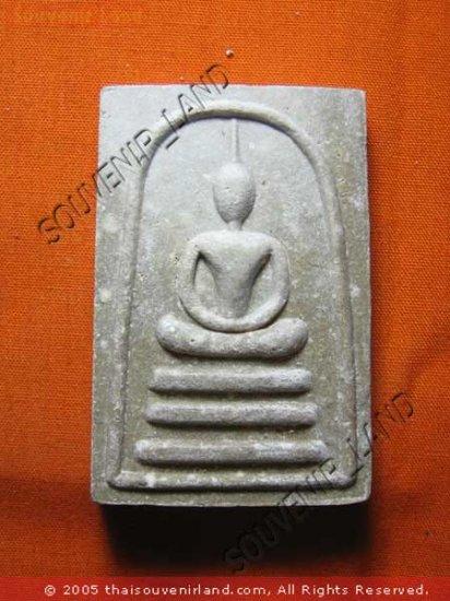 0749-BUDDHA AMULET THAI CHARM TABLET SOMDEJ LP GUYE