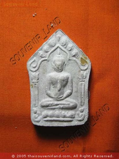 0741-OLD THAI BUDDHA AMULET KHUN-PAEN PLAI KUMAN LP TIM