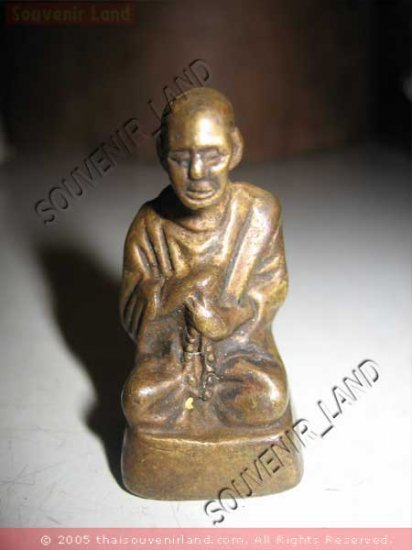 0691-THAI BUDDHA AMULET FIGURE SOMDEJ TOH  1957 RARE