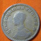 0632-THAI BUDDHA AMULET KING RAMA 9 COIN LP THOE RICH