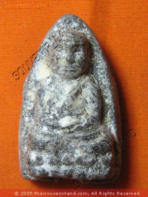 0629-THAI BUDDHA AMULET TALISMAN MONK LP TUAD 2497 RARE
