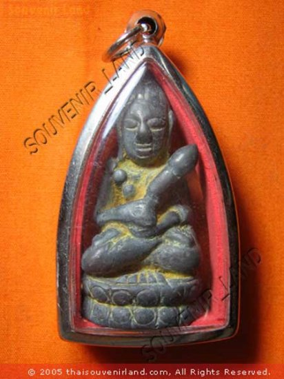 0623-THAI BUDDHA BUDDHIST FIGURE ARTEFACTS ANTIQUE 19TH